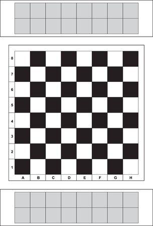 chess board Ilustração
