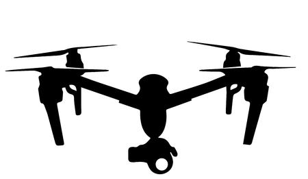 Drone logo Banque d'images - 52588203
