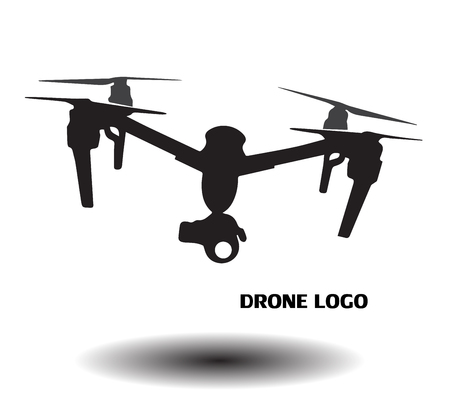 985 Drone Logo Stock Vector Illustration And Royalty Free Drone ...