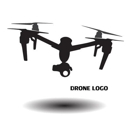Drone logo Banque d'images - 52590603