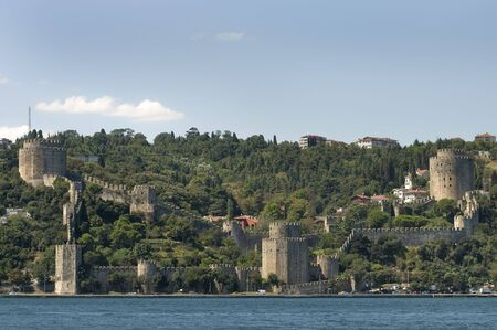 hisari: Rumeli Castle (Rumeli Hisari) Istanbul, Turkey  Stock Photo