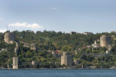 hisari: Rumeli Castle (Rumeli Hisari) Istanbul, Turkey  Stock Photo