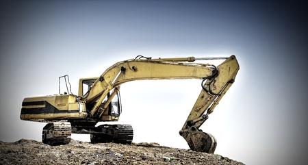 Excavator Banco de Imagens
