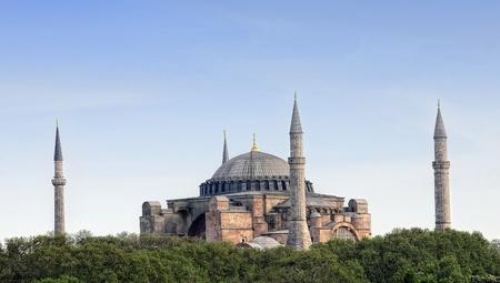 Hagia Sophia, Istanbul, Türkei Standard-Bild - 9595512