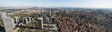 Istanbul Panoramic View (Levent Region), Turkey