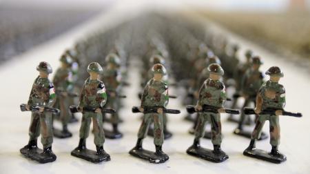 Lead Soldiers Banco de Imagens