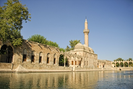 Halil Rahman Mosque In Sanliurfa, Turkey Stock Photo