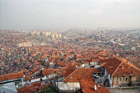 Ankara Cityscape, Turkey                  Stock Photo