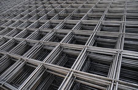 Stahlarmierungsstäbe für Bau Standard-Bild - 13451761