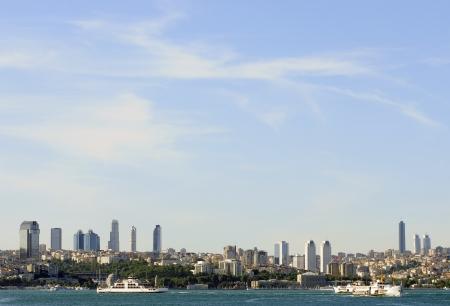 Istanbul Cityscape, Bosphorus, Turkey