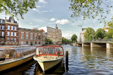 Amsterdam Canals, Holland photo
