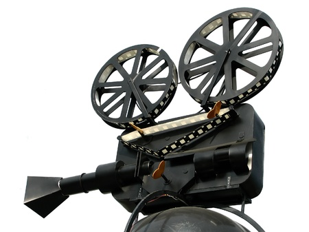 Film Camera Isolated On White Background