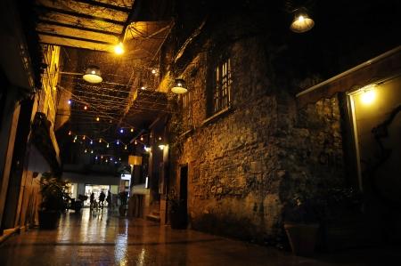 Dark Alley In Beyoglu, Istanbul, Turkey