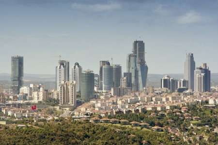 Zincirlikuyu  Business District , Istanbul, Turkey