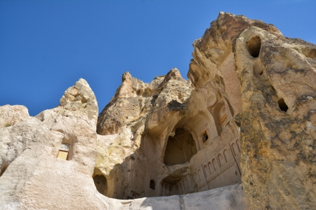 The Dark Church In Cappadocia, Nevsehir, Turkey