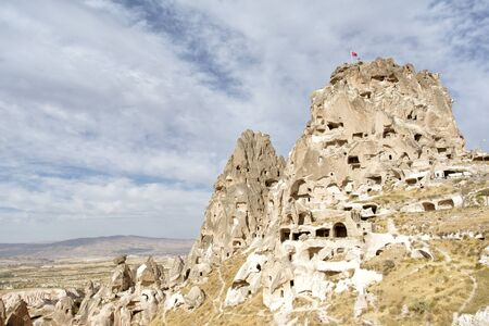 Uchisar Castle, Nevsehir, Turkey