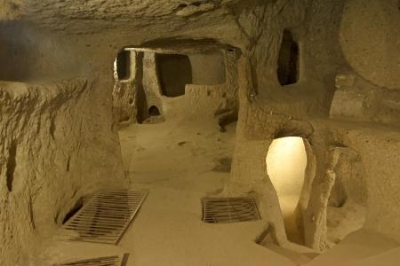 Kaymakli Underground City, Nevsehir, Turkey