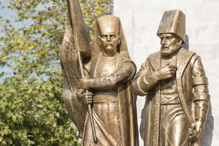 ruling: Statues Of An Ottoman Pasha And Janissary, Istanbul, Turkey