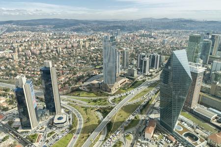 Levent District, Istanbul, Turkey
