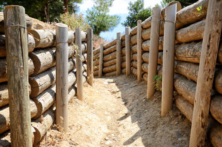 trenches: War Trenches of Gallipoli, Canakkale, Turkey