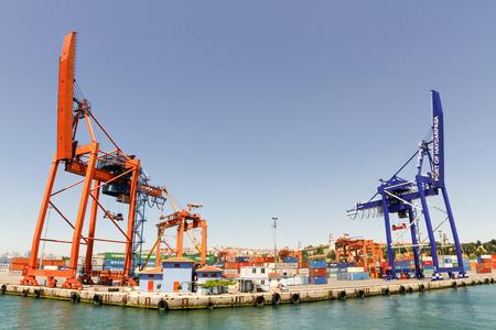 haydarpasa: Port Of Haydarpasa Istanbul Turkey