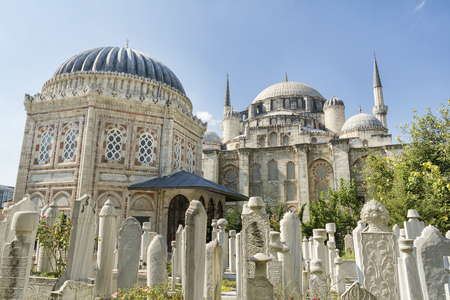 mehmed: Sehzade Mosque and Tomb Of Sehzade Mehmed Istanbul Turkey Editorial