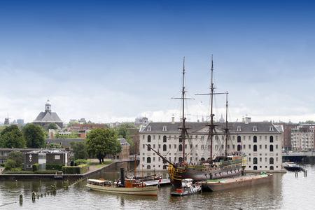 naval: Naval Museum Amsterdam Netherlands