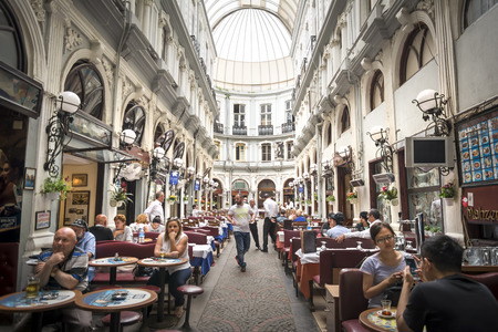 Cicek Pasaji Cite De Pera Istanbul Turkey