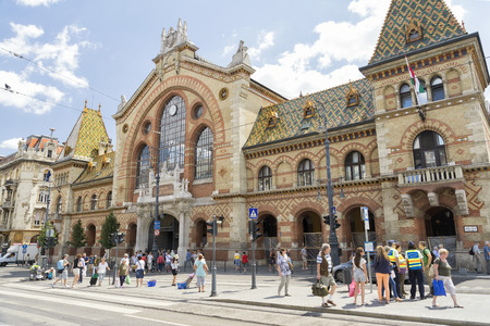 great hall: Great Market Hall,Budapest, Hungary