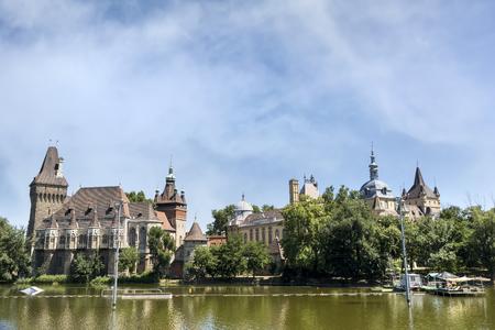 hungary: Vajdahunyad Castle, Budapest, Hungary