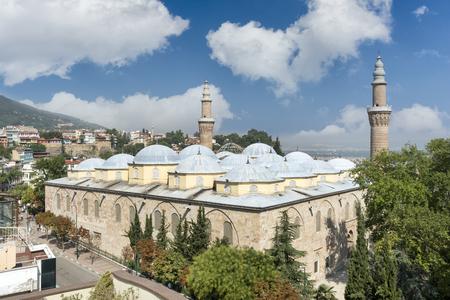 Ulu Cami Grand Mosque of Bursa, Bursa, Turkey Standard-Bild
