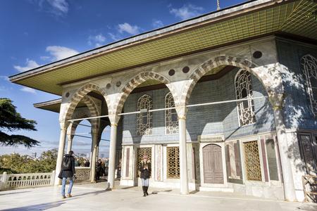 topkapi: Baghdad Kiosk Inside Topkapi Palace, Istanbul, Turkey
