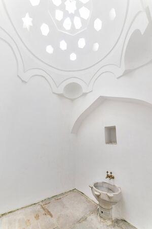 harem: Faucet And Washbasin Inside Harem Section of Topkapi Palace, Istanbul, Turkey