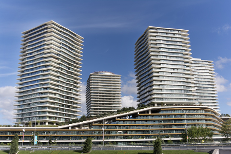 Zorlu Center, Istanbul, Turkey Standard-Bild