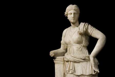 lady diana: Sculpture Of Artemis at Istanbul Archeology Museum, Turkey