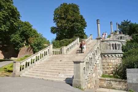 serbia: Stairs At Kalemegdan Park, Belgrade Fortress, Serbia