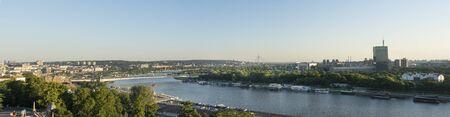 belgrade: Panorama of Belgrade Cityscape, Serbia