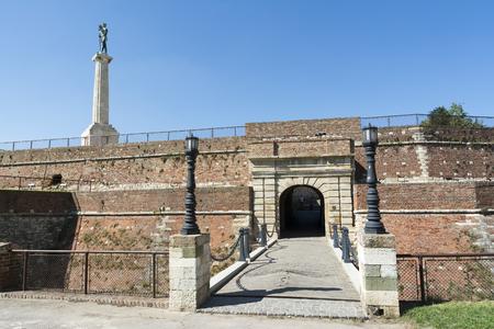 castle: Kings Gate At Belgrade Fortress, Serbia