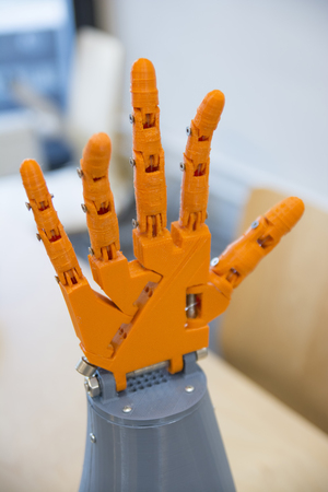 Robotic Hand Created With 3d Printer