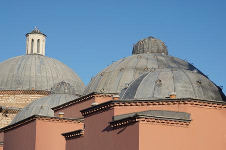 sultan: Domes of Haseki Hurrem Sultan Bathhouse Hamam, Istanbul, Turkey