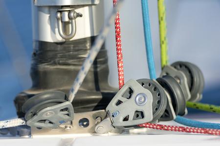 poleas: Poleas de vela modernos