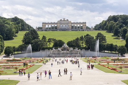 gloriette: Schonbrunn Palace, Vienna, Austria