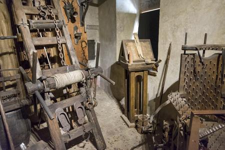 Medieval strumenti di tortura