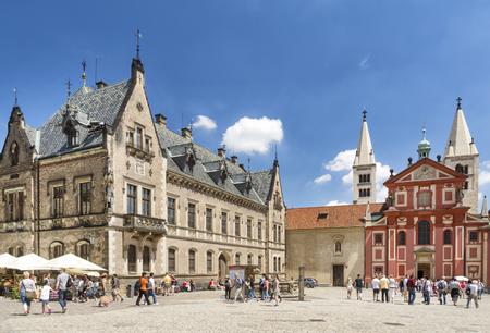 St.-Georgs-Basilika Im Inneren der Prager Burg, Tschechische Republik