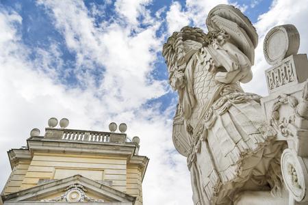 gloriette: Detail From The Gloriette at Schonbrunn Palace, Vienna, Austria