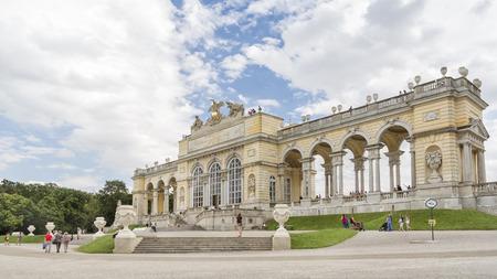 gloriette: Gloriette Inside Schonbrunn Palace Garden, Vienna, Austria