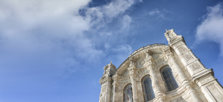low angle: Low Angle View From Ortakoy Mosque, Istanbul, Turkey