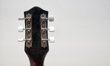 Headstock Of A Vintage Guitar