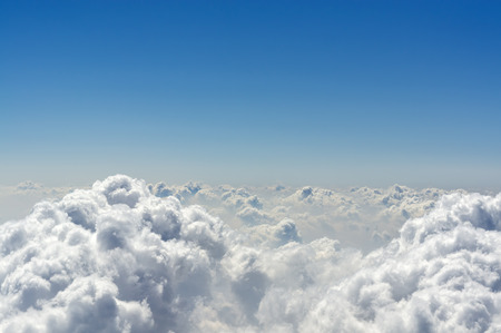 Above The Clouds (Cloudscape Background)