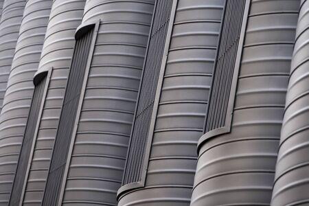 Close Up Shot Of Ventilation Pipes Stock fotó